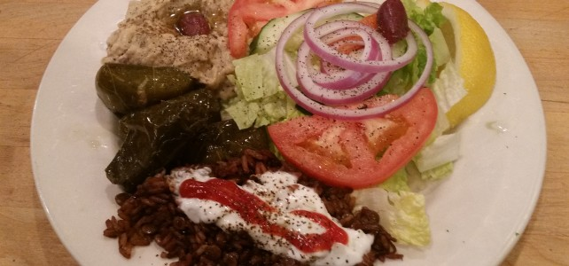 MidEast Combo Plate